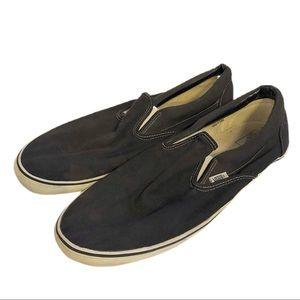 Vans Classic Black Slip-ons